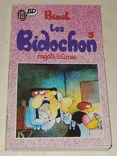Les BIDOCHON 5 Ragots intimes par BINET - J'AI LU BD 1989
