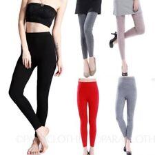 Slim, Skinny, Treggins Solid Regular Size Pants for Women