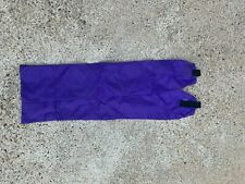 Two Purple Horse Tail Bags