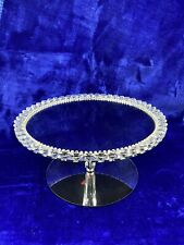 Diamond  Cake Stand, Glass With Diamonds As Pictured. Top Quality. Fast Dispatch