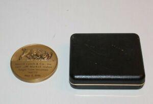 Large Heavy Brass Merrill Lynch MITTS Award Souvenir 1996 S&P 500