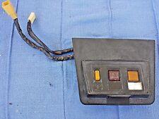 72-74 DATSUN 240z Fuse box Door cover defrost switch chock original OEM!