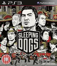 Sleeping Dogs (Sony PlayStation 3, 2012) FREE SHIPPING