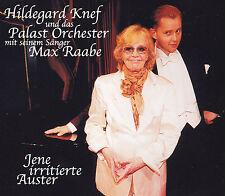 HILDEGARD KNEF + Palast Orchester + MAX RAABE  - MAXI-CD -JENE IRRITIERTE AUSTER