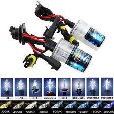 55W Xenon HID Bulb Lamp Bombillas H7 H1 H9 H11 H8 4300K 5000K 6000K 8000K 10000K