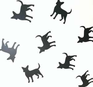 Chihuahua Cute Dog Vinyl Wall Art Decals/Stickers - Various Colours & Sizes