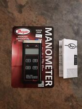 DWYER INSTRUMENTS 490A-6 Digital Hydronic Manometer,200 psi NEW Never Used