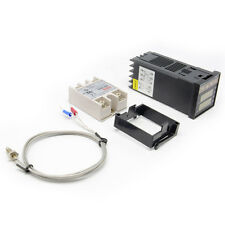 PID REX-C100 Temperature Controller +max.40A SSR +K Thermocouple Probe Sensor