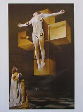 Dali KREUZIGUNG  - DALI BETRACHTUNG FÜNF KÖRPERN 2 Kunstdrucke print