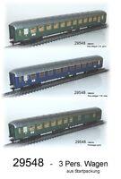 Aus Märklin 29548 Schnellzugwagenset der DB 3-teilig #NEU#