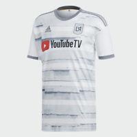 Adidas Men's 2019 MLS LAFC Away Stadium Jersey (White/Black) DY0306*