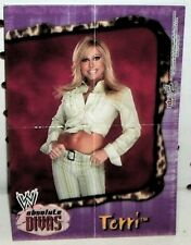 WWE - ABSOLUTE DIVAS 2002 - TERRI RUNNELS - MARLENA   #1 - MINI POSTER