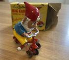 Enid Blytons Morestone Big Ears Riding his Bicycle (LARGE Series no 301b) V RARE
