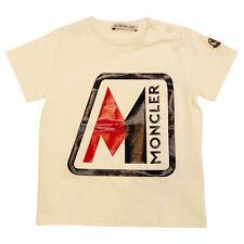 MONCLER T-shirt T-SHIRT Bianco 8C700-208790A034 34BIANCO