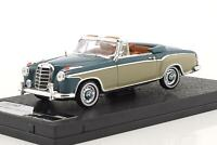 Mercedes-Benz 220 SE Cabriolet Light blue cream,Scale 1:43 by Vitesse