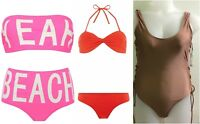 Primark Women's Bandeau Top & Bottom Girls Swimsuit Ladies Swimwear