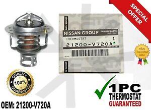 1 PC NEW Genuine Nissan / Infiniti Engine Coolant Thermostat 21200-V720A OEM.