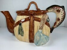 Trout Teapot Fish By Ru Finney Big Sky Carvers