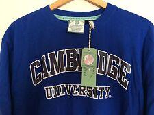 Università di Cambridge blu T SHIRT XL NUOVA CON ETICHETTA