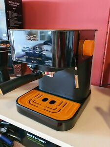 OUTLET ECO-DE Cafetera Espresso Forte Touch. 20 Bar, Express, Panel Táctil, 1.6L