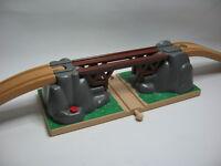 BRIDGE COLLAPSING ~ Wooden Train Track ( Thomas) ~ GENUINE BRIO