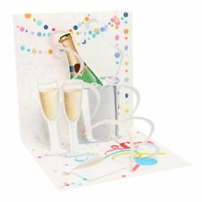 Pop-Up Greeting Card Trearures by Popshots Studios -   A Toast To You