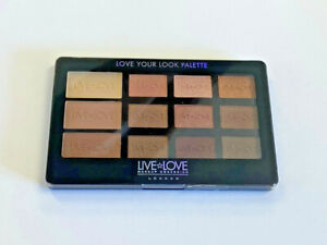 MAKE UP OBSESSION Love Your Look Smoulder 3 Eye Shadow Palette