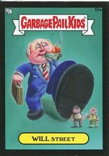 Garbage Pail Kids Mini Cards 2013 Black Parallel Base Card 55a WILL Street