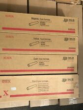Xerox Phaser 7750 Toner Set  PartNumber: 106R00652/53/54/55