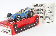 MÄRKLIN SPRINT 1331 Ferrari 312 T2 blau mit OVP sehr guter Zustand Motor läuft