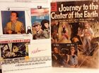 """PAT BOONE SIGNED INDEX CARD """"JOURNEY TO THE CENTER OF THE EARTH"""""""