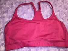 Aerie Sports Bra Rose Color Great Cond SzS (409)