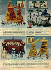 1976 ADVERT Toy Planet Of The Apes Play Set One Million BC Fort Apache