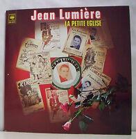 """2 x 33 tours Jean LUMIERE Disques Vinyles LP 12"""" LA PETITE EGLISE - CBS 88117"""