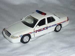 Road Champs Van Buren Police Crown Victoria Diecast Car 1:43 Scale c.1998