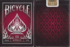 Bicycle Apollo Red Edition Playing Card Decks!!