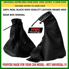 VAUXHALL OPEL HOLDEN ASTRA MK4 G TS HANDBRAKE GEAR STICK COVER GAITER LEATHER