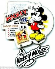 WDW Featured Artist Jumbo 2006: Oh Boy! Mickey Mouse LE 750 Pin (Boxed)