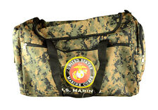 """21"""" Military Official Licensed Product """"U.S. Marines"""" Duffel Bag Gym Bag"""