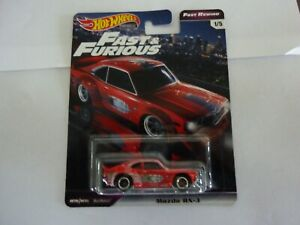 Hot Wheels Fast and the Furious Premium Set Mazda RX-3
