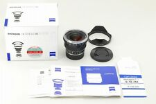【Top Mint】 ZEISS Distagon T 18mm f/4 MF ZM Lens for Leica In BOX From Japan#127
