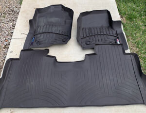 Weather Tech Set Front & Rear Floor Liners-Mats Ford Super Duty F-250 F-350 Crew