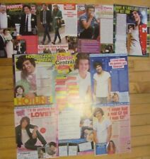 Harry Styles, One Direction, Lot of TEN Full Page Clippings