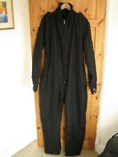 Police public service riot uniform overall black wool