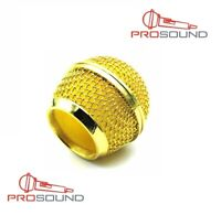 PROSOUND Top Quality Gold Plated Microphone Grille For Sm58 Beta58A microphone
