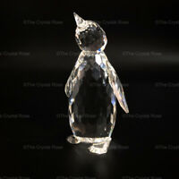 RARE Retired Swarovski Crystal Large Penguin 010008 MINT Boxed Certificate