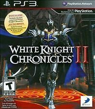 White Knight Chronicles II (Sony PlayStation 3, 2011)Game Disc Only Fast Ship