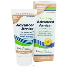 King Bio Soothing Advanced Arnica Homeopathic Cream, 3 Ounces