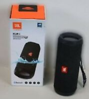 JBL FLIP4BLK Flip 4 Waterproof Portable Bluetooth Speaker (Black)