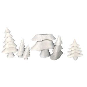 Bonarty Foam Cones Styrofoam Cone Shaped Crafts White Christmas Tree Table Centerpiece Flower Arrangement Props 26pcs//Set Assorted Sizes
